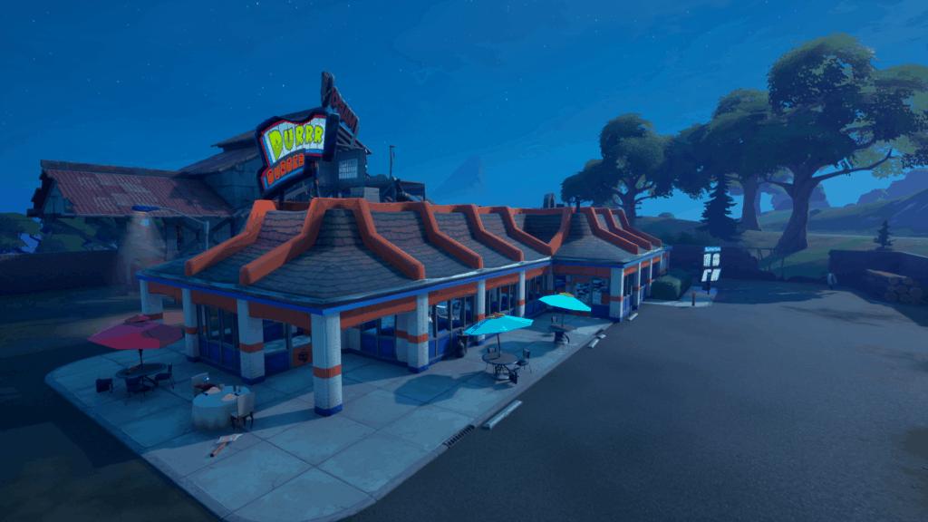 Restaurante de hamburguesas Fortnite Durr