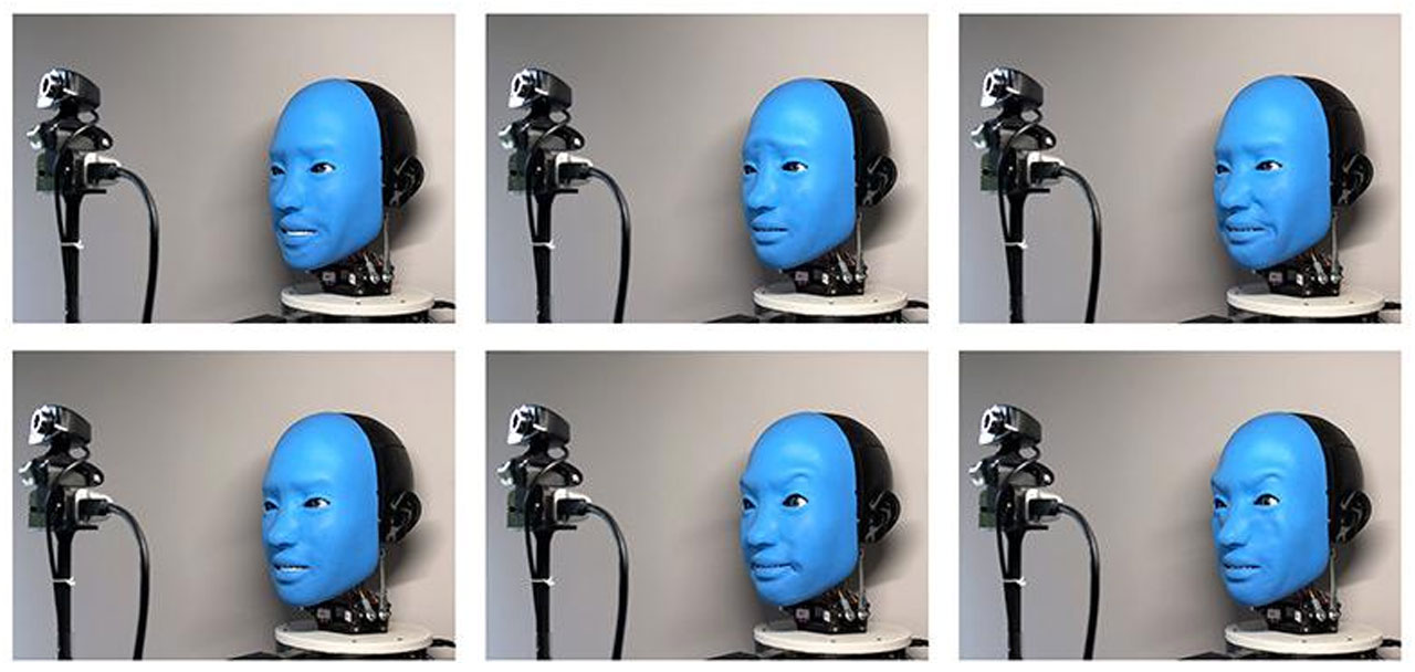 Engineers use AI to create a robot that can smile back
