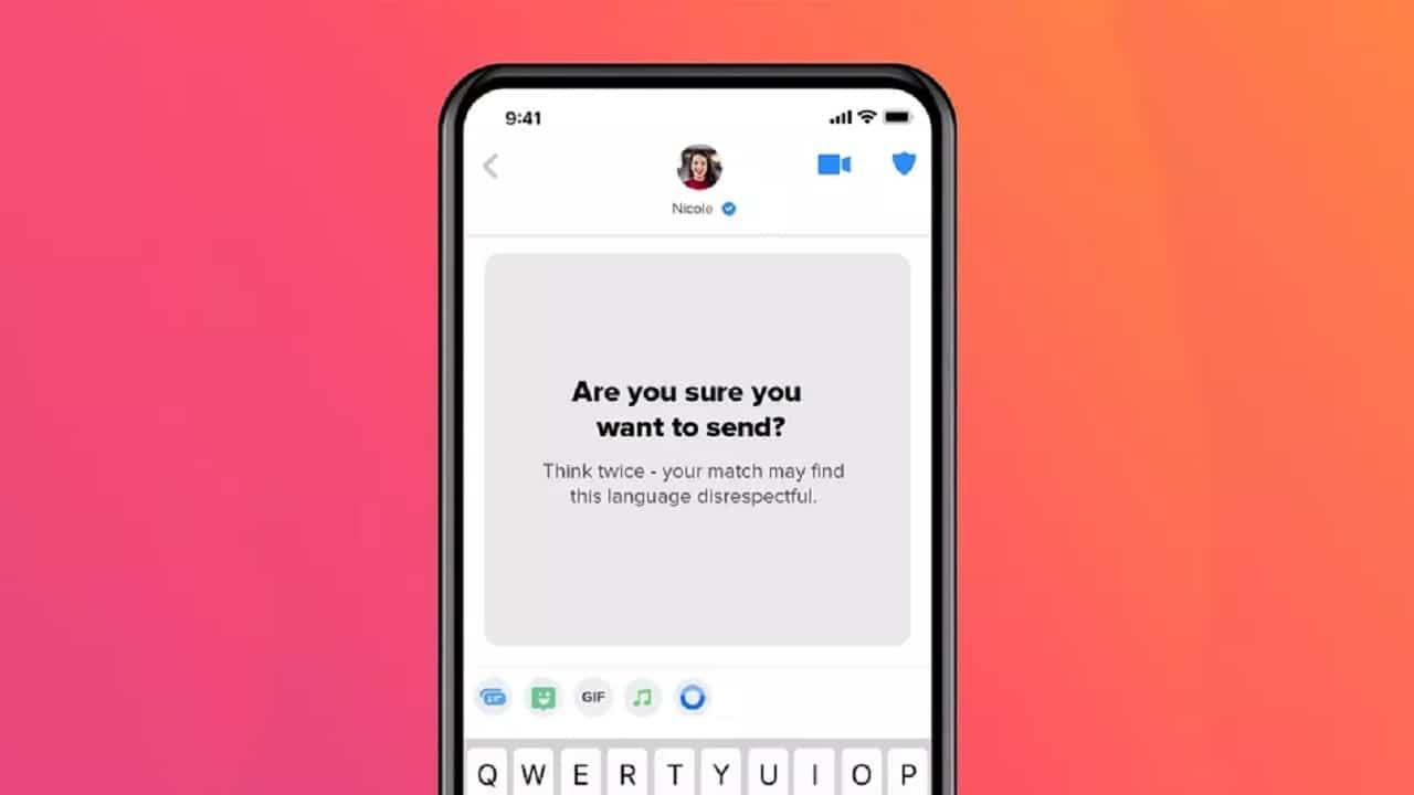 Tinder agrega IA capaz de filtrar mensajes inapropiados