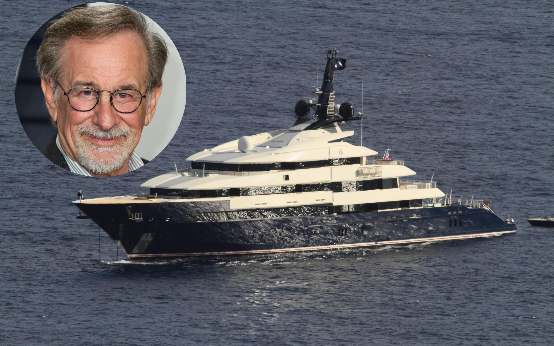 Visita guiada al superyate de 130 millones de euros de Steven Spielberg