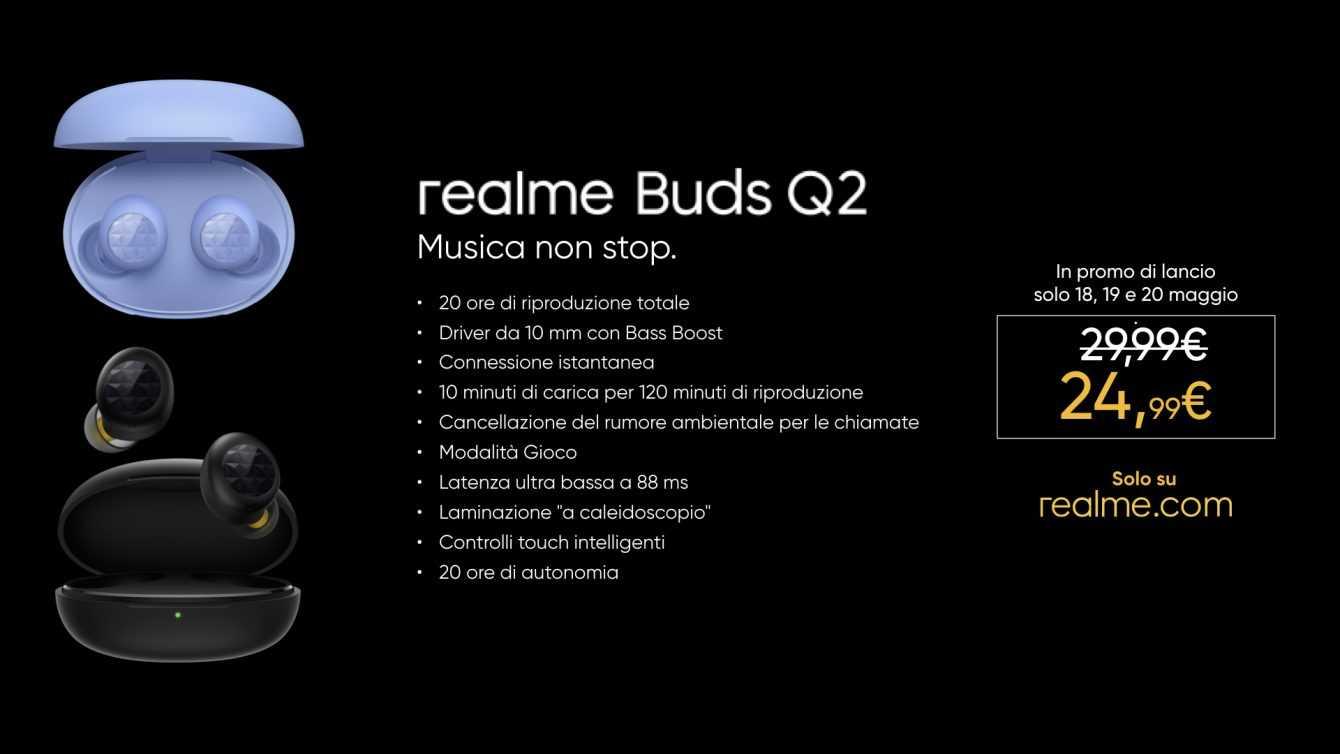 Realme 8: la versión 5G finalmente está disponible en Italia