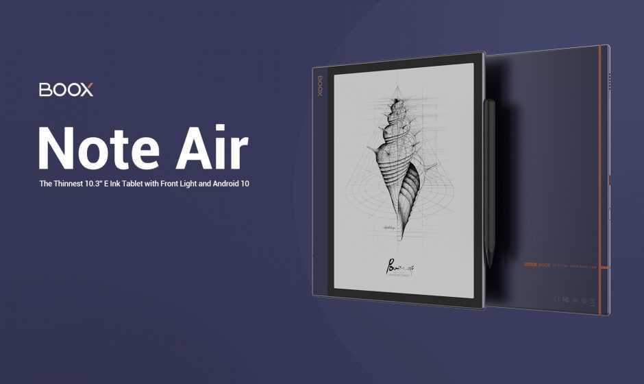 Revisión de Onyx Boox Note Air: el mejor (e) -Reader del mercado