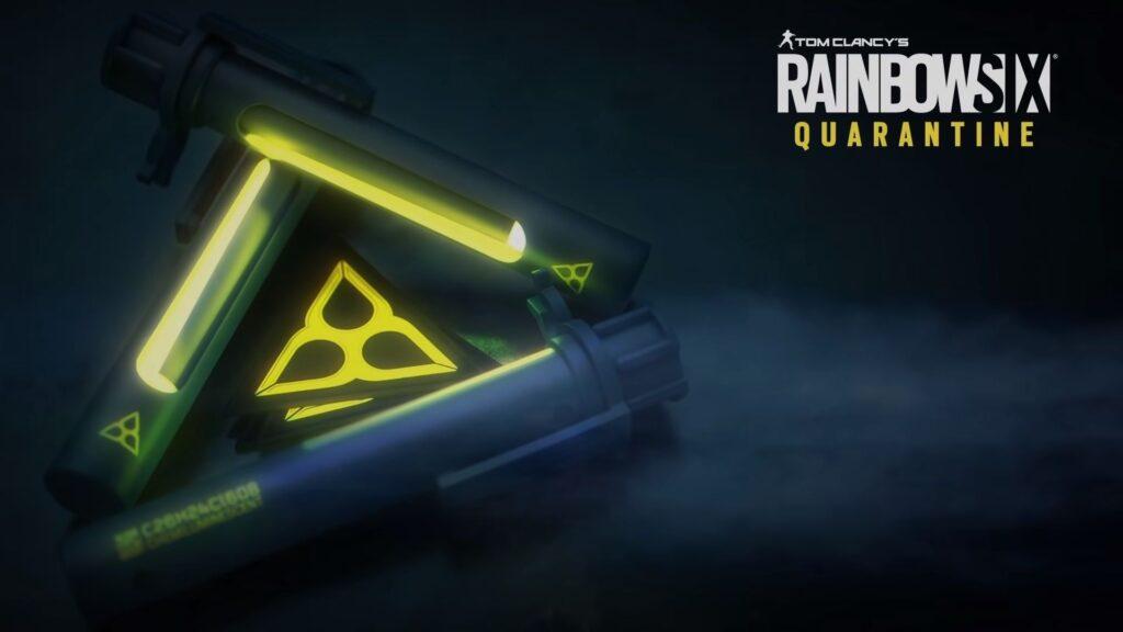 remolque de cuarentena rainbow six
