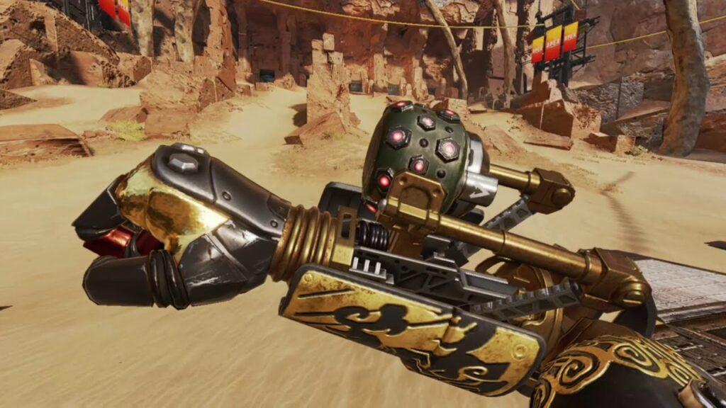 Granada de fragmentación de artillería de Apex Legends