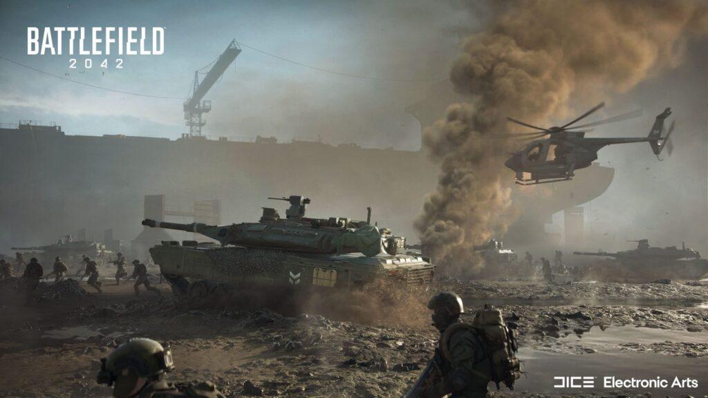 Tráiler de revelación del juego de Battlefield 2042