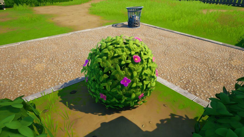 Arbustos en la temporada 7 de Fortnite