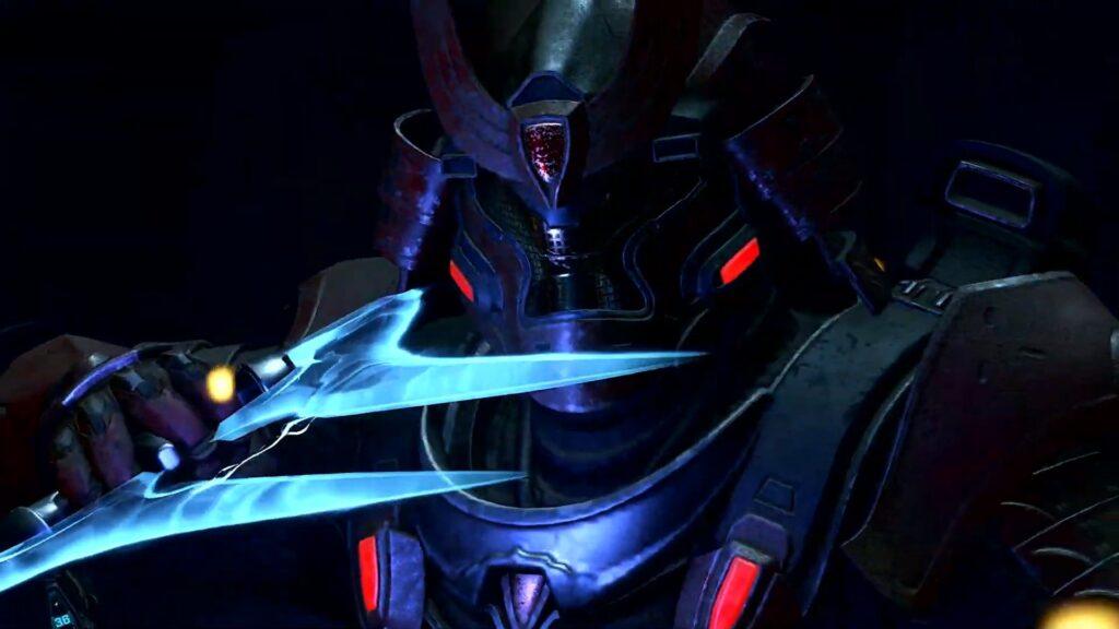 la armadura Yoroi en Halo Infinite