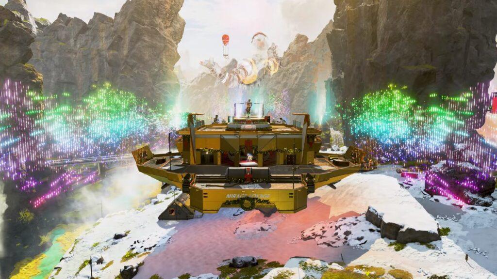 Punto de interés del barco Mirage Voyage en Apex Legends