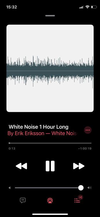 ruido blanco en apple music