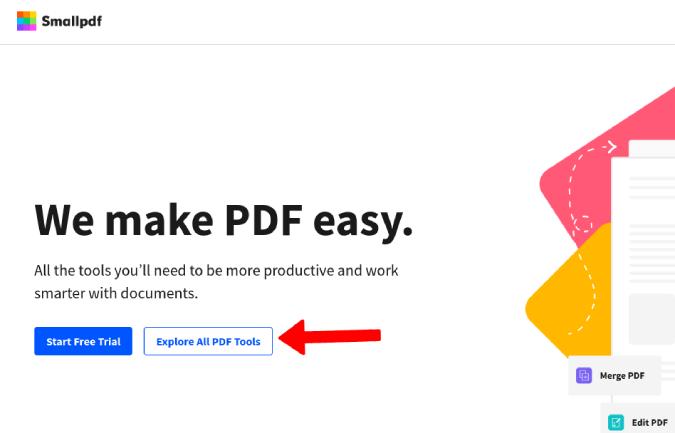 Abrir PDF pequeño