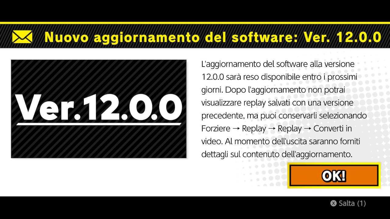 Super Smash Bros.Ultimate: próximamente la actualización 12.0.0