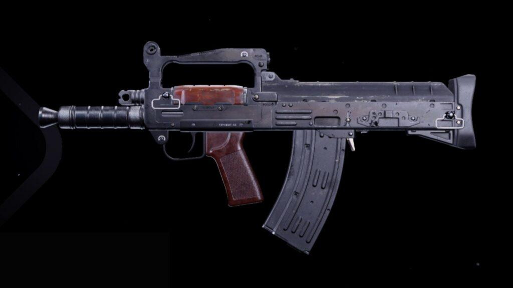 Rifle de asalto groza en bacalao guerra fría
