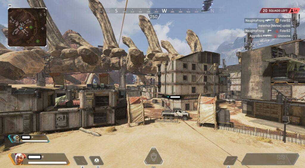 Apex Legends Skull Town Arenas Mapa