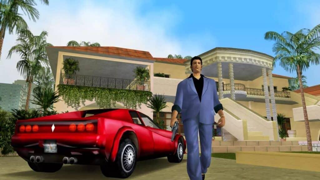 Tommy Vercetti grand theft auto vice city