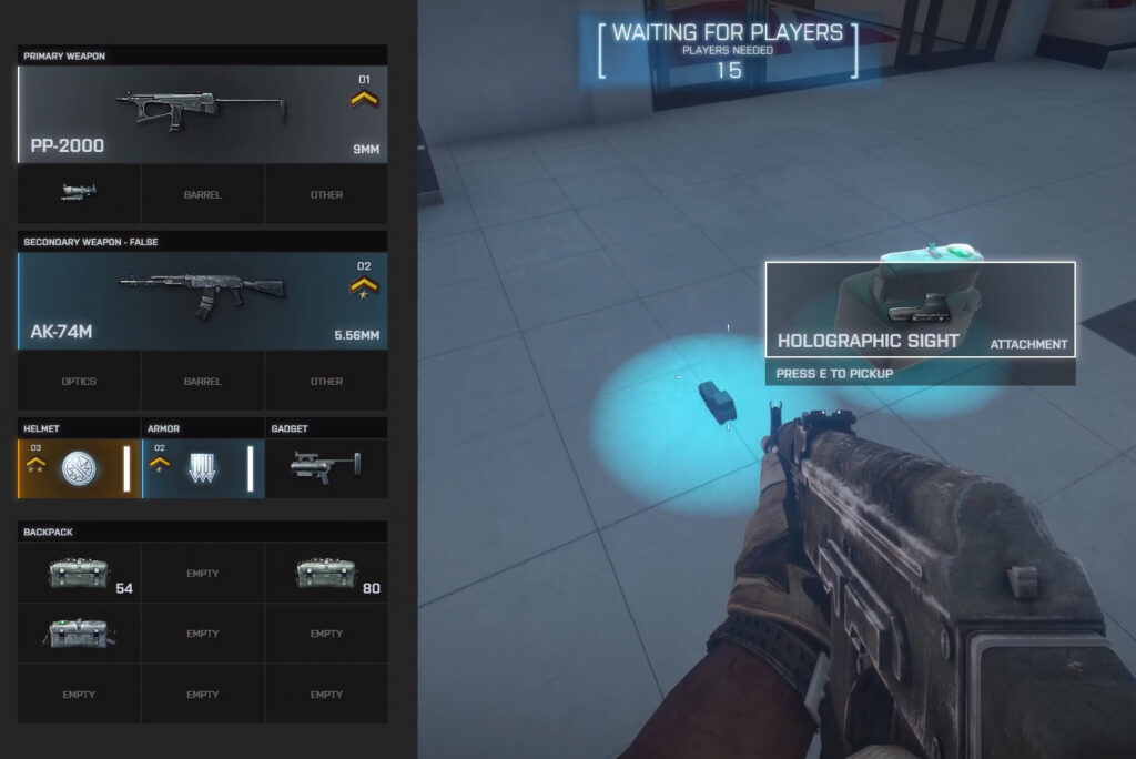 Sistema de botín de Battle Royale BF3