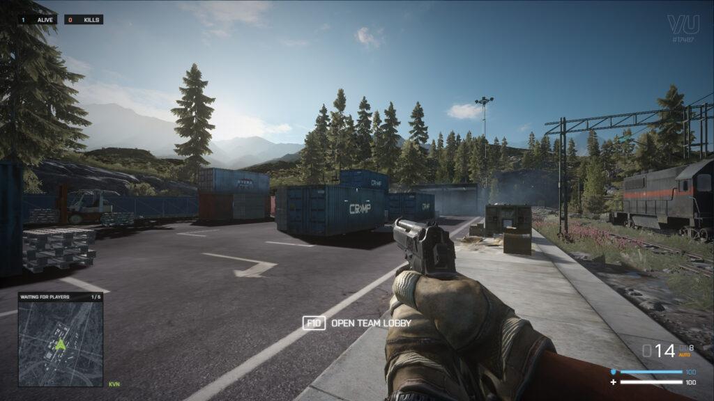 Interfaz de usuario de Battle Royale de BF3