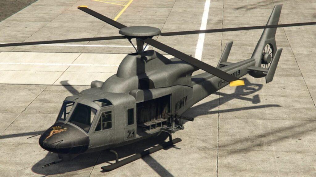 helicóptero de gta online valkyrie