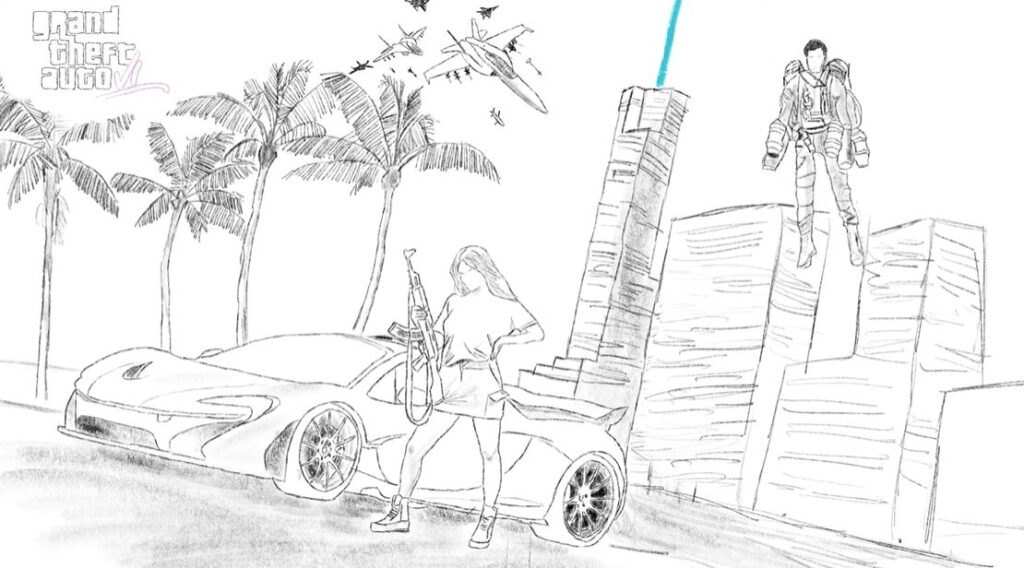 Arte conceptual de GTA 6 por Tom Henderson