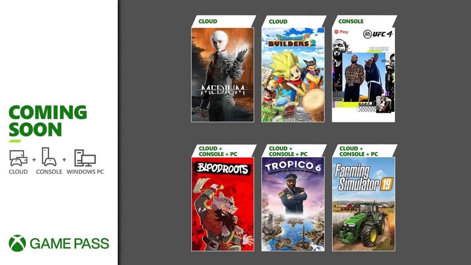 Los nuevos juegos de Xbox Game Pass para julio de 2021