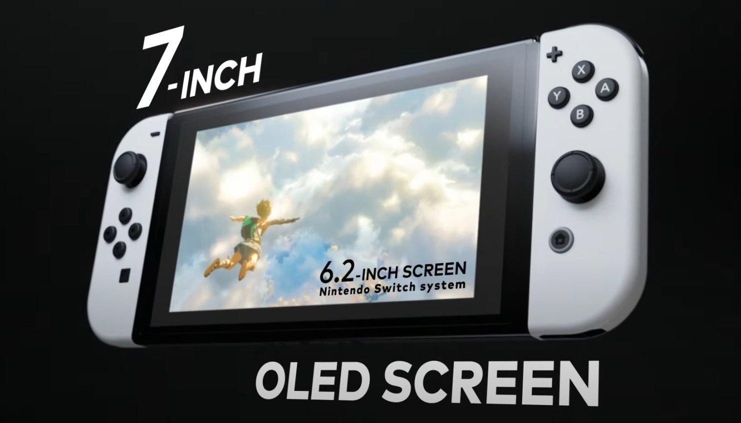 Nintendo (por fin) formaliza el lanzamiento de su nuevo Switch con pantalla OLED