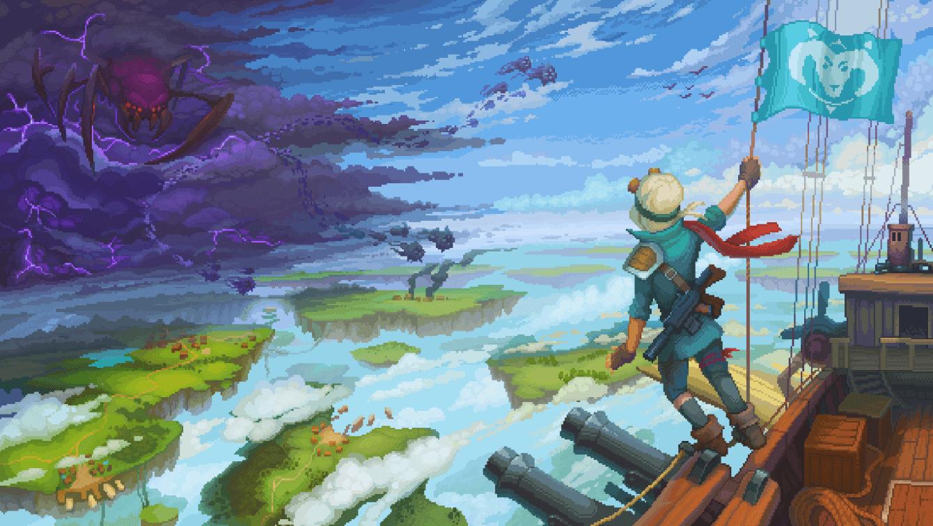 Vista previa de Black Skylands: conquistando el cielo