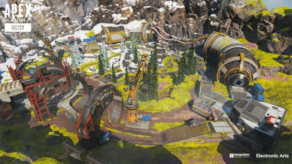 Mapa de Apex Legends Arenas