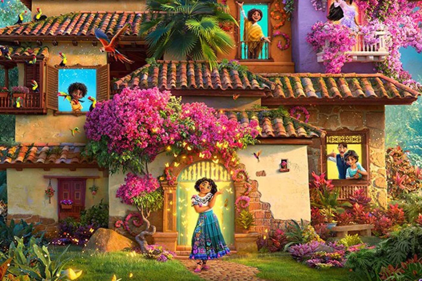 """Disney sigue llevándonos de viaje con su nueva película """"Encanto"""" de la que aquí está el tráiler."""