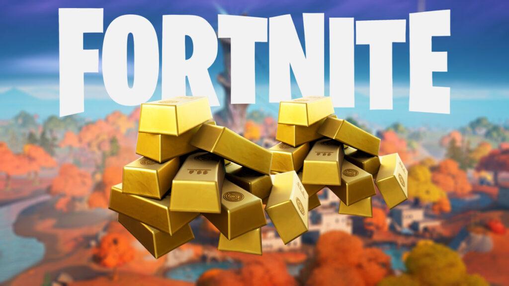 Lingotes de oro de la temporada 7 de Fortnite