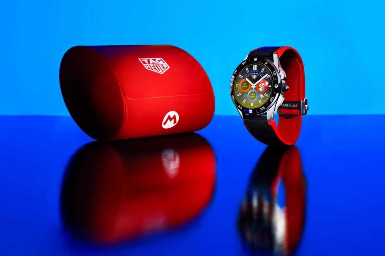 TAG Heuer: se presenta el reloj inteligente temático de Super Mario