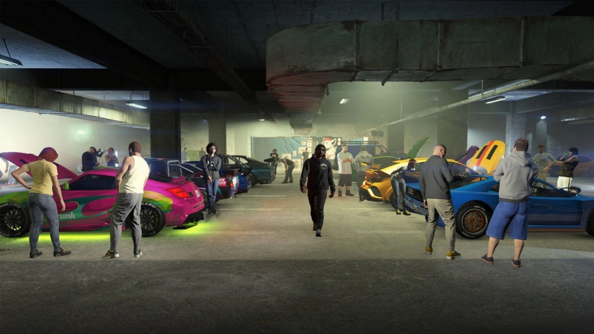 LS Car Meet en GTA Online