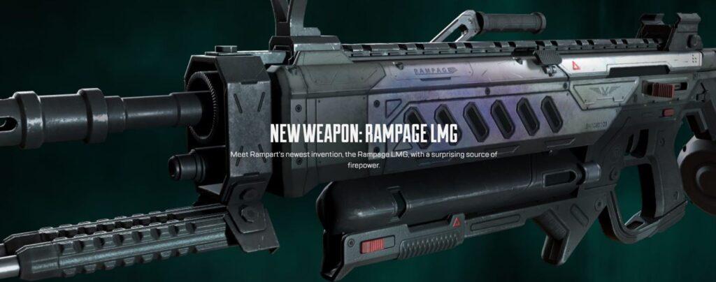 Apex Legends Emergence Rampart LMG