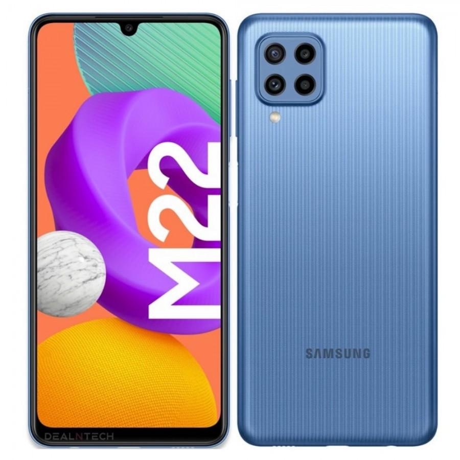 Samsung Galaxy M22: la fuga revela especificaciones y diseño