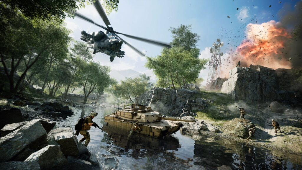 Frontera del Caspio en Battlefield 2042 Battlefield Portal