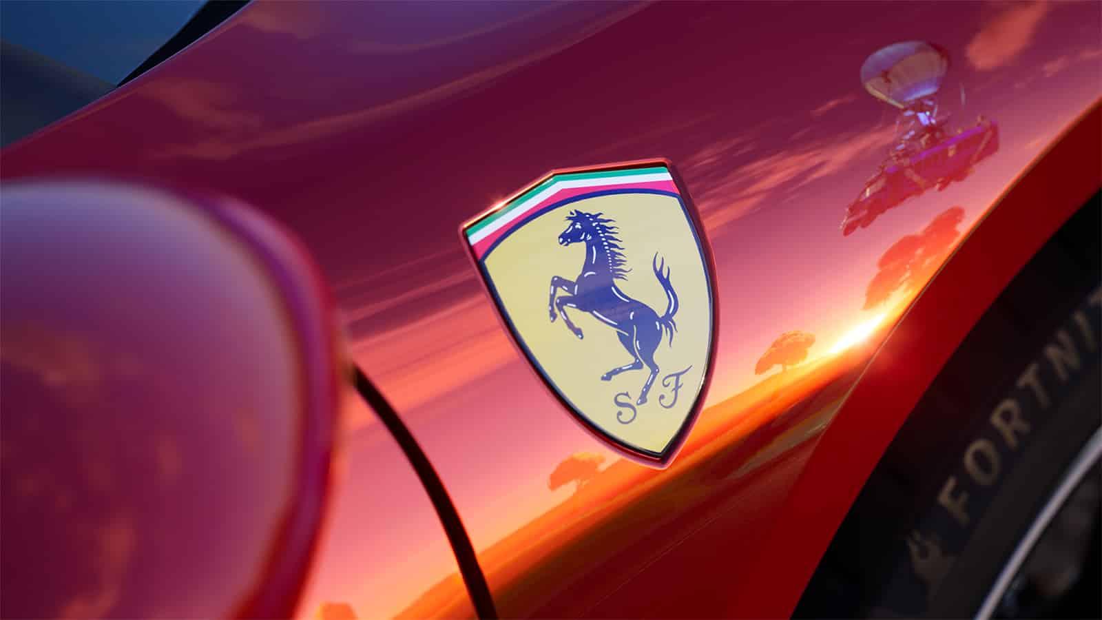 Ferrari de Fortnite
