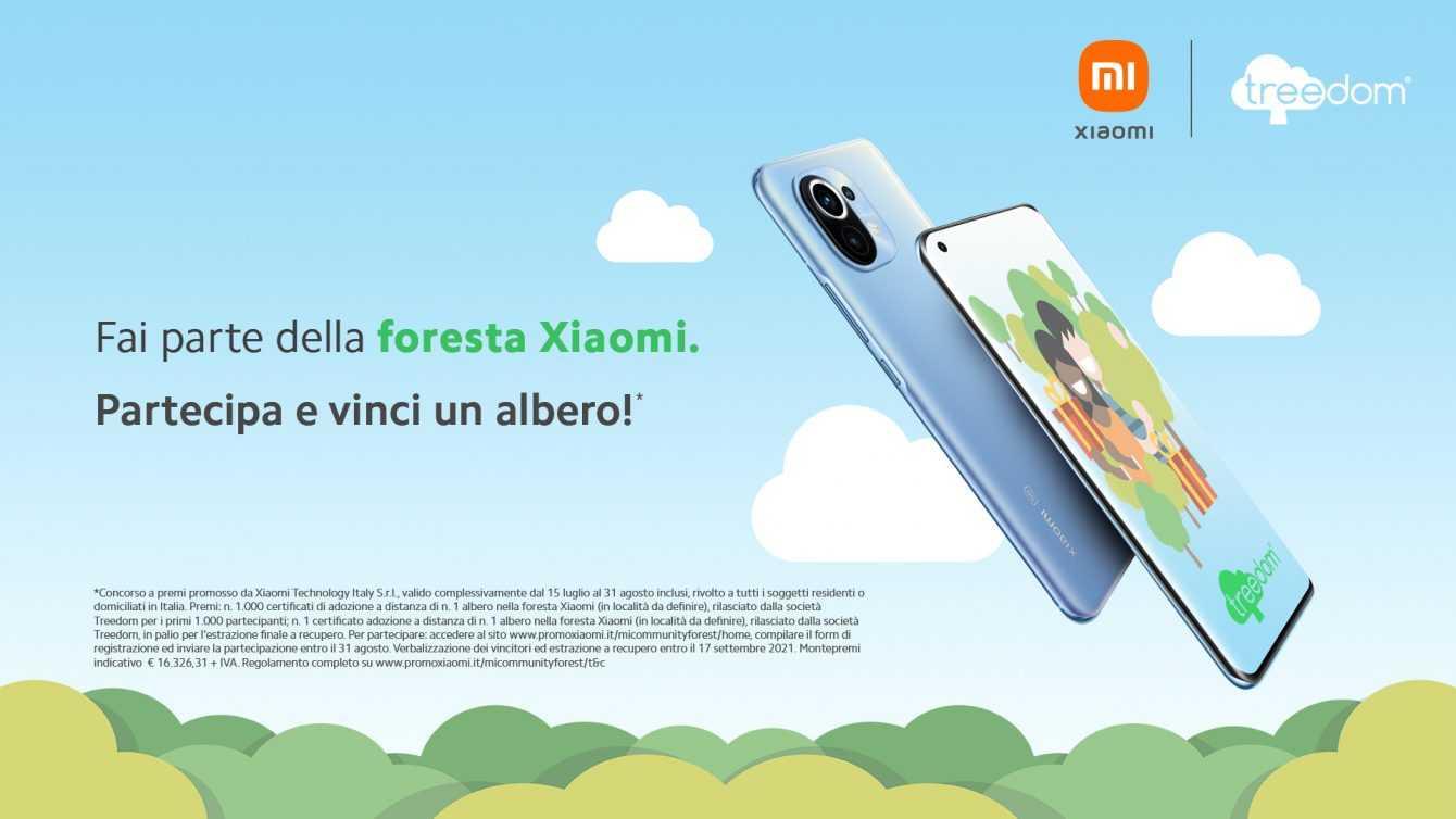 Xiaomi Treedom: el proyecto de eco-sostenibilidad