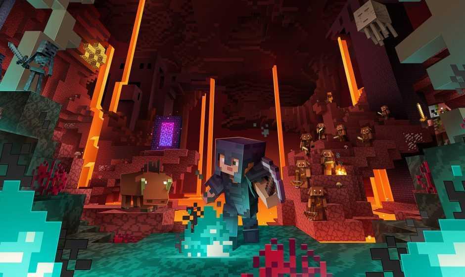 Minecraft: ¡el fuego del Nether se puede extinguir!