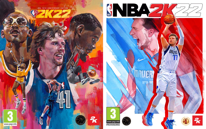 NBA 2K22: anunció los jugadores que aparecerán en la portada
