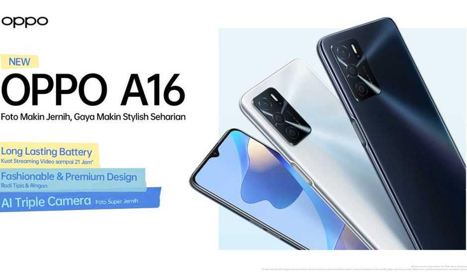 Oppo A16: el nuevo nivel de entrada presentado oficialmente