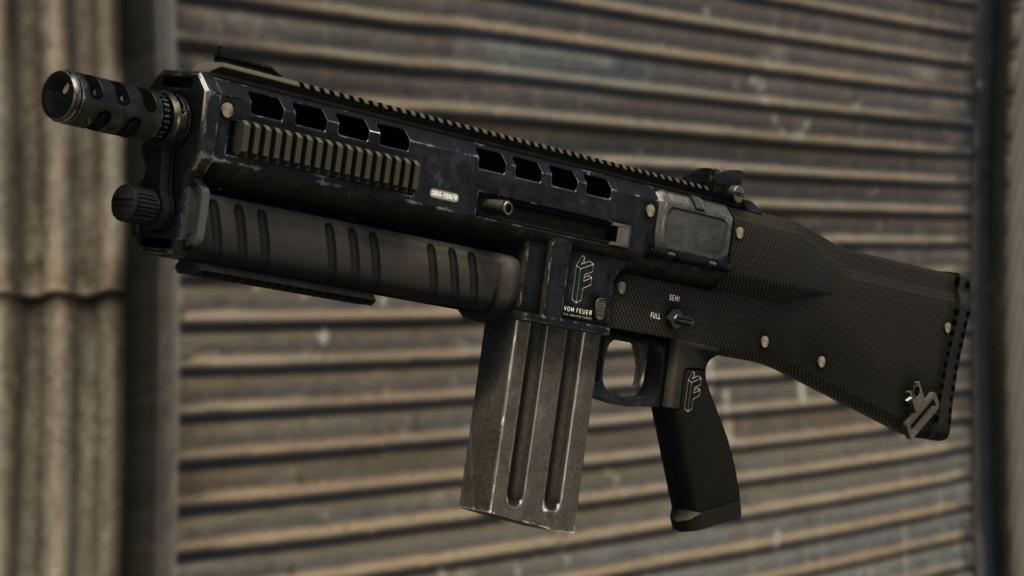 escopeta de asalto gta online