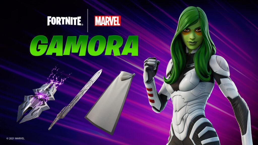 Piel de Fortnite Gamora