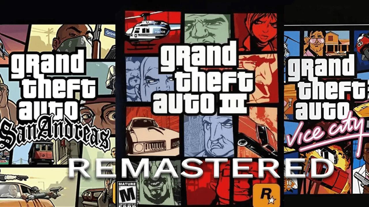 GTA: ¿viene un remasterizado para III, Vice City y San Andreas?