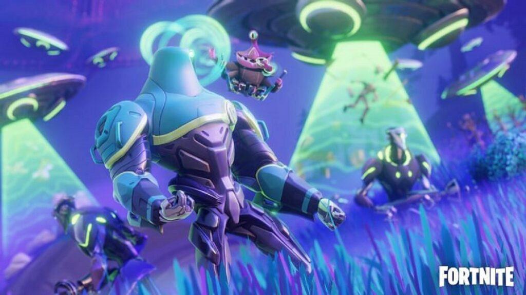 Parásitos alienígenas de Fortnite