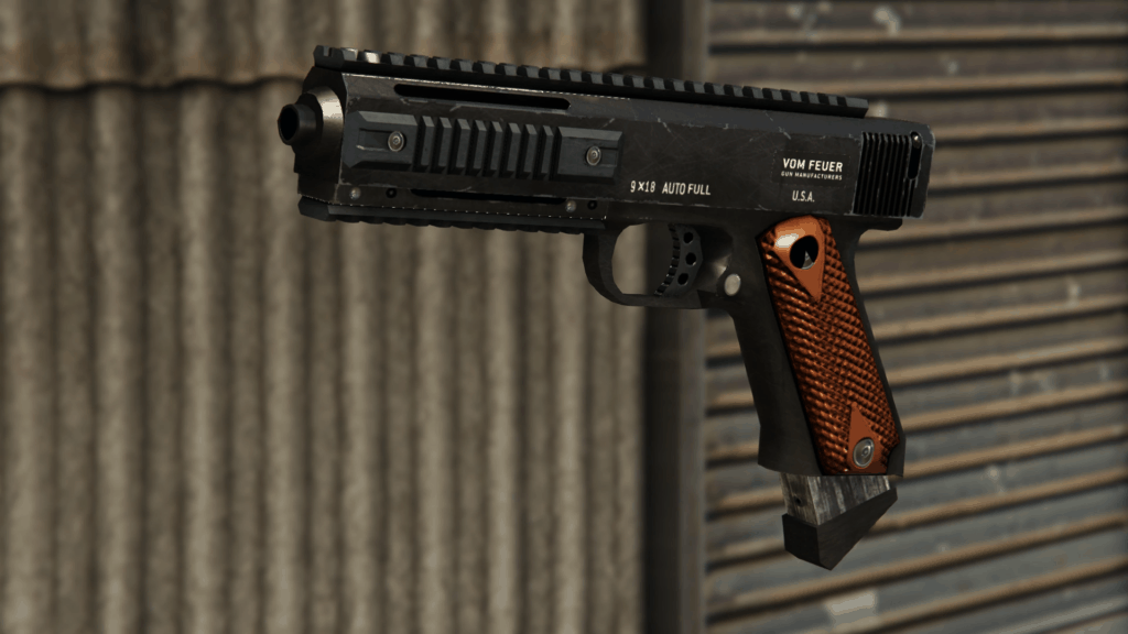 pistola gta online ap