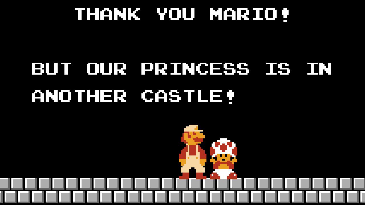 Super Mario Bros .: otra subasta alucinante