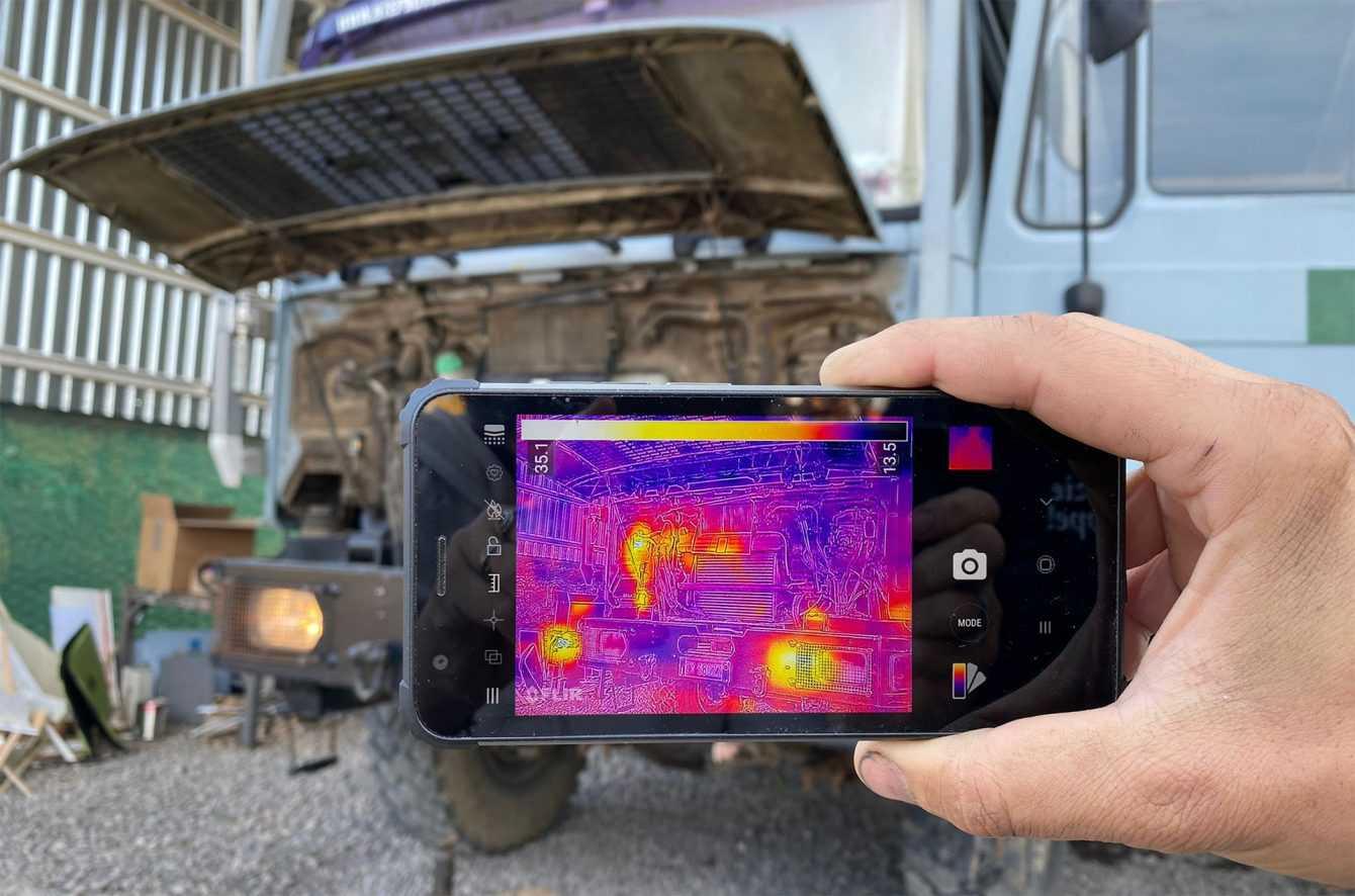 Blackview BV6600 Pro, el teléfono resistente con cámara térmica más asequible del mundo