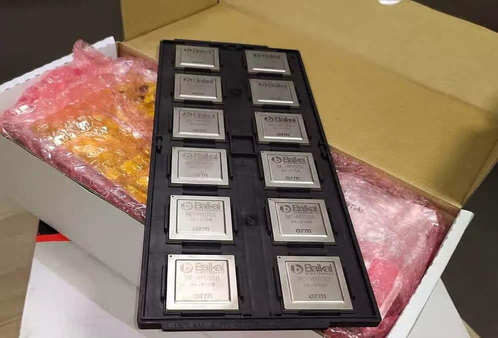 El fabricante de chips ruso Baikal obtiene el primer lote de 5000 procesadores de TSMC: Octa Core Cortex A57 a 1,5 GHz